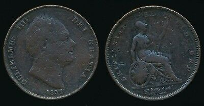 1837 William IV - Copper PENNY.......Fast Post