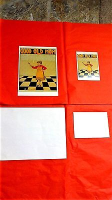 Mary Engelbreit GOOD OLD MOM   poster & greeting card for   Mothers Day
