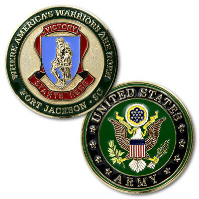 NEW U.S. Army Fort Jackson, SC Challenge Coin.