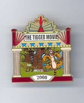 JDS Japan Disney Store Pooh The Tigger Movie Theater Marquee LE Pin & Card