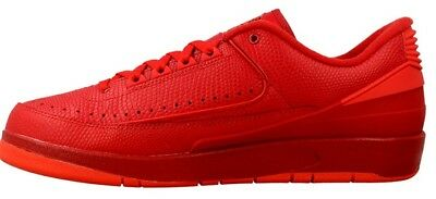 new concept 0fecd ff826 Nike Air Jordan 2 Retro Low Gym Red Uk 8 Mens Trainers 832819 606 Bnib