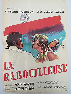 Old 1960 French Movie Poster La Rabouilleuse