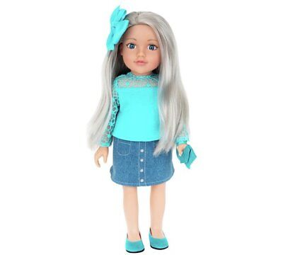 Chad Valley Designafriend Holly Doll Capturing Memories With 18inch/45cm NEW_UK