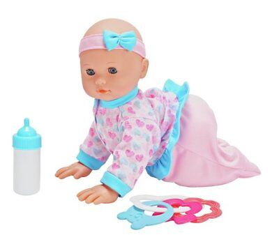 Chad Valley Babies to Love Crawling Doll Crawls And Giggles But Be Careful NEW