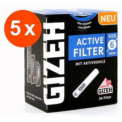 "GIZEH 5 x 34 "" Active Filter Slim "" 6mm 