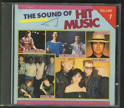 THE SOUND OF HIT MUSIC VOL 1 1988 CD Centerfold Depeche Mode The Outfield A-ha