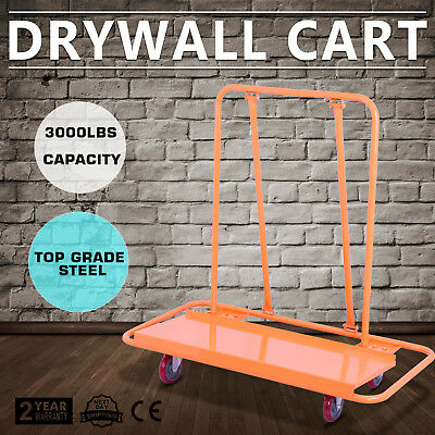 Drywall Cart Dolly Handling Sheetrock Sheet Panel Service Cart 3000