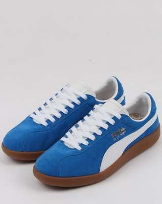a6985728627 Puma Blue Star Trainers in Royal Blue   White - retro suede court star  sneaker