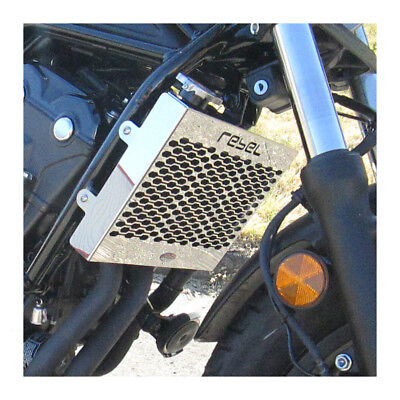 Honda CMX500 Rebel (17-19)  Beowulf Stainless Steel Radiator Guard Cover Grill