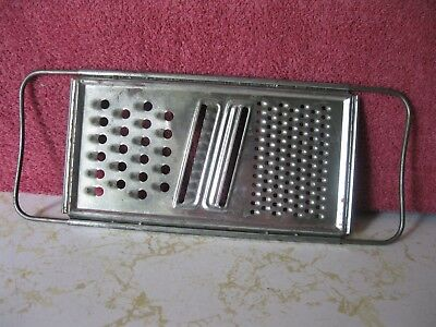 Vintage Hand Held Manual Grater Zester Shredder Utensil