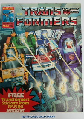 Marvel UK - The Transformers - Comic - No. 53 - 22nd March. 1986 (*3)