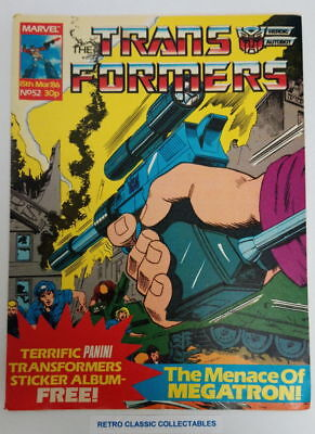 Marvel UK - The Transformers - Comic - No. 52 - 15th March. 1986 (2)