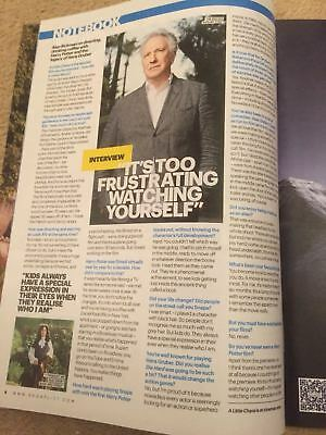 UK Shortlist Magazine April 2015: ALAN RICKMAN interview