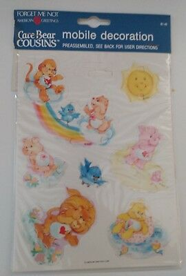 American greetings care bears paper mobile decoration on string new american greetings care bears paper mobile decoration on string new old stock m4hsunfo
