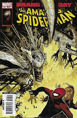 The Amazing Spider-Man (Vol.1) No.557 2008 Brand New Day Zeb Wells Chris Bachalo
