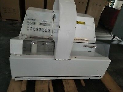 OLIVER VARISLICER BREAD SLICER Model 2005 Bakery DELI Working/TESTED - USED LOOK