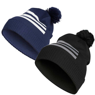 cd8437ae47c ADIDAS 3-STRIPES BEANIE Golf Pom Pom Winter Thermal Hat