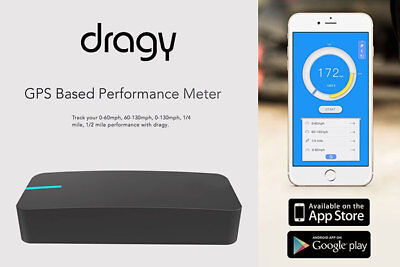 Dragy GPS Based Performance Meter Bluetooth 4.0 with built in battery DRG69
