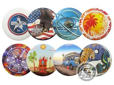 Discraft SuperColor ULTRA-STAR 175g Ultimate Frisbee Disc - PICK YOUR DESIGN