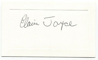 Elaine Joyce Signed Photo Autographed Signature Actress Cards & Papers