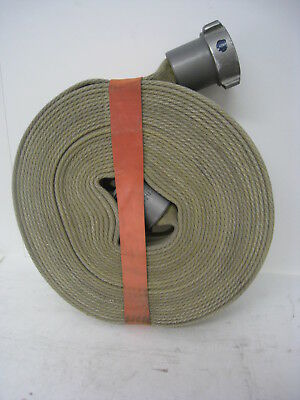 Action USA 1.5 Fire Hose w Male & Female Couplings Firefighter Hose Roll