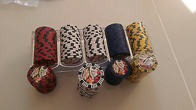 POKER CHIPS 172 x WELCOME TO FABULOUS LAS VEGAS 11.5 gram PROFESSIONAL WEIGHT