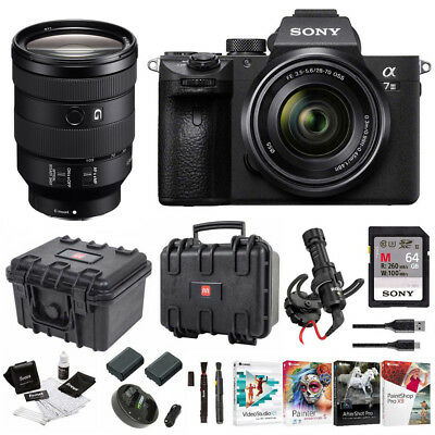 Sony α7 III Full Frame Mirrorless Camera with 28-70mm and 24-105mm Lens Kit