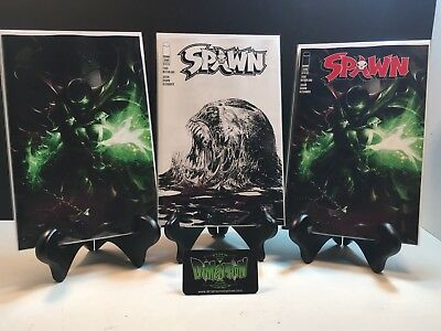 Spawn #290 A B C Variant Set Of 3 Regular Mattina Virgin And Mcfarlane