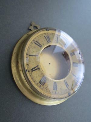 Vintage Convex Glass Round Photo Frame Clock Face Display