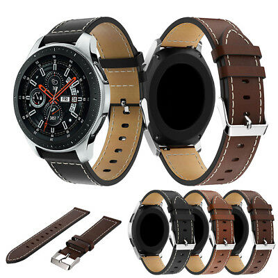 Fashion Replacement Leather Watch Band Wrist Strap For Samsung Galaxy Watch 46mm