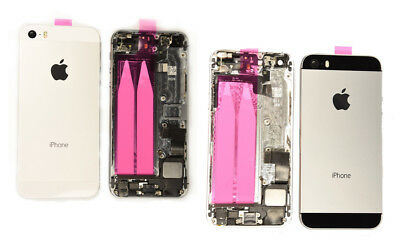 OEM iPhone 5S Back Rear Housing Mid Frame Cover Replacement Full Assembly Parts