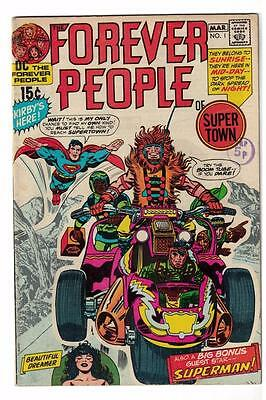 DC Comics Forever people 1 FN- 5.5 1st Darkseid Justice superman Kirby 1971