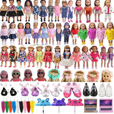 Doll Clothes Dress Shoes for American Girl 18inch Our Generation My Life Toy Lot