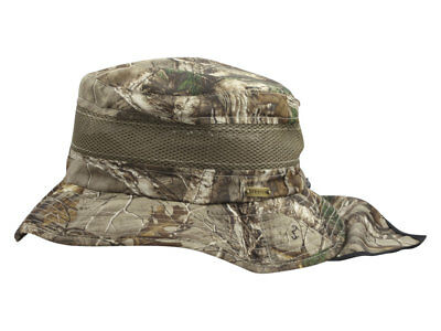 3016a7763ceb9d STETSON MEN'S REALTREE Xtra No Fly Zone Insect Repellent Boonie Hat ...