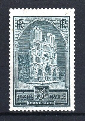 """FRANCE STAMP TIMBRE YVERT 259a """" CATHEDRALE REIMS 3F TYPE II """" NEUF xx LUXE T538"""