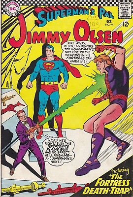 DC Silver Age Comic SUPERMAN'S PAL JIMMY OLSEN 97 (1966)   £4.99 Post Free UK