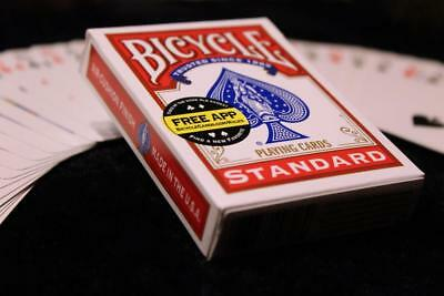 Red backed Magic Cards-SVENGALI DECK-bicycle street magic cards - brand new