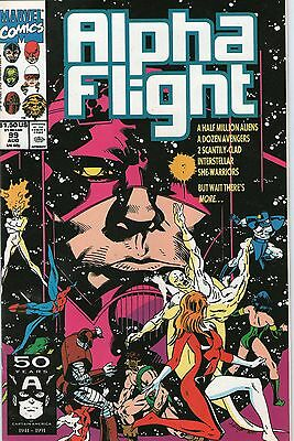 ALPHA FLIGHT # 99 - FINAL OPTION PART 3 ( 1st SERIES - ND 1991 )