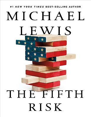 The Fifth Risk by Michael Lewis ( Hardcover, Free Shipping ) Brand New