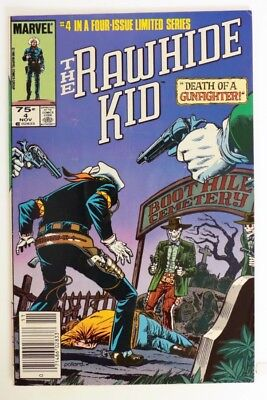 ESZ8518. THE RAWHIDE KID #4 From Marvel Comics 3.5 VG- (1985) Limited Series >