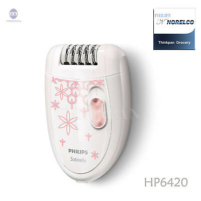 PHILIPS Satinelle Essential Compact Washable epilator 2 speed Brush HP6420 6574