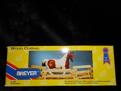 Breyer Horse Natural Wood Corral Fencing Accessory Toy #7500 New