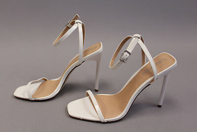bdb6f6c5ab8 BOOHOO ELIZA CLEAR Strap Two Part Sandal Khaki TW4 Women s Size UK 5 ...