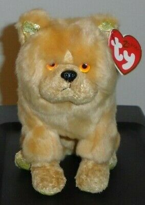 c1771f4efc0 NMT  Ty Beanie Baby ~ DOG (Chinese ZODIAC) the Chow Dog ~ MWNMT