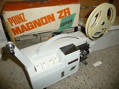 Cine film projector PRINZ MAGNON ZA super 8 + original box