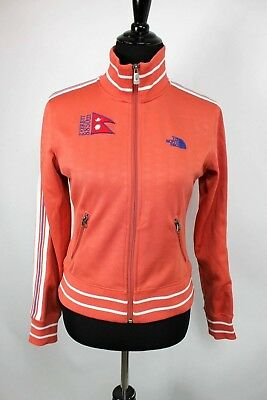 3c9f64639c The North Face A5 Series Track Jacket sz S Womens Coral Orange Mt Everest  Zip