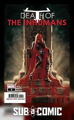 DEATH OF INHUMANS #4 (MARVEL 2018 1st Print) COMIC