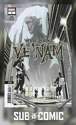 WEB OF VENOM VE NAM #1 RAMIREZ VARIANT (MARVEL 2018 2nd Print) COMIC