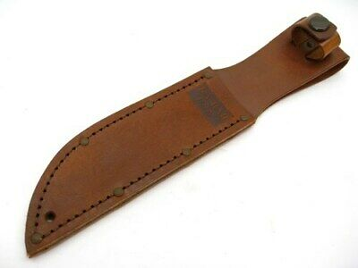 "Ka-Bar Brown Leather Sheath For Short Fixed 5-1/4"" Blade Knives 1251S"