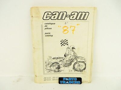 Oem Genuine Can-Am Parts Catalog Manual 200 250 400 500 ASE A.S.E. 735009039